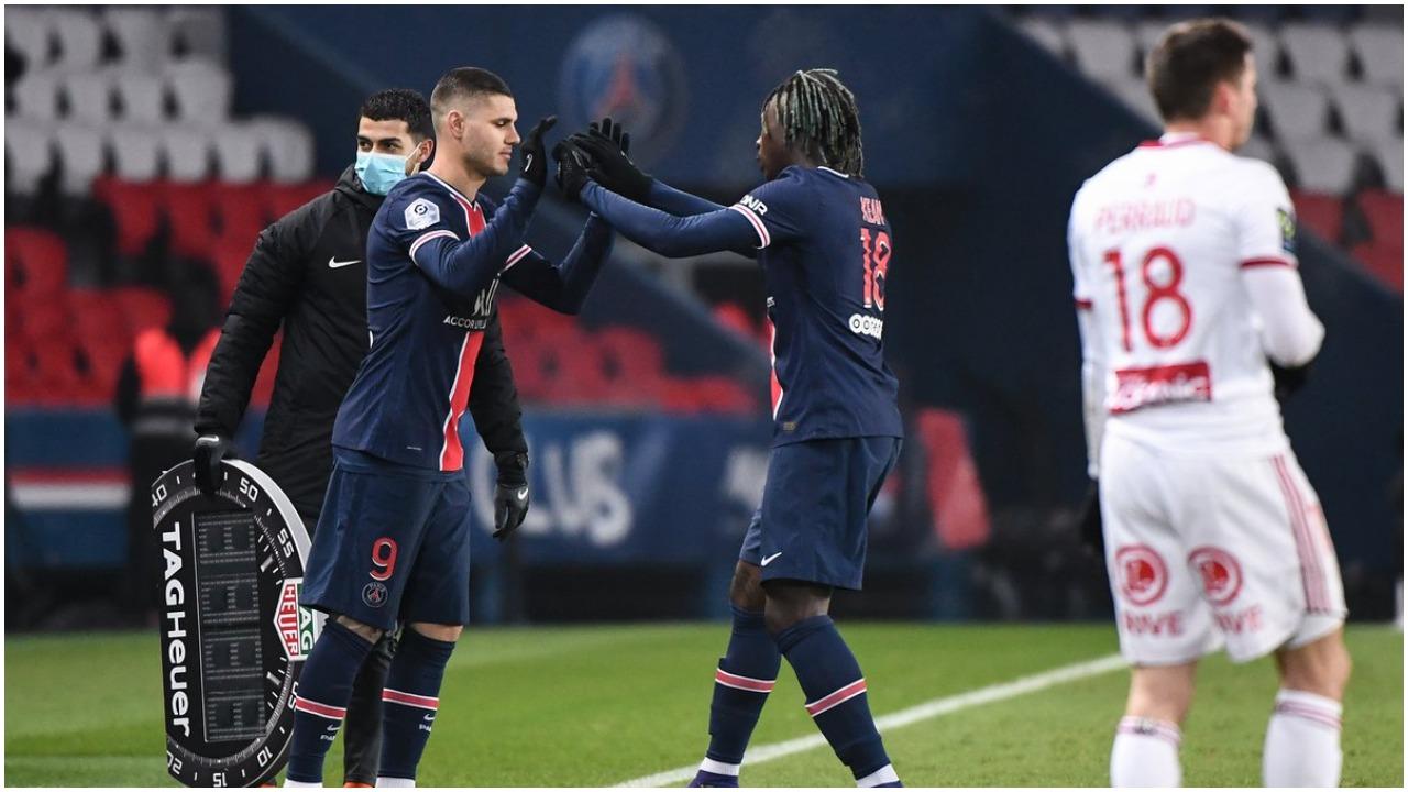 """""""Çfarë futbolli, shkëlqyem për një orë. Icardi-Kean të rëndësishëm për PSG"""""""