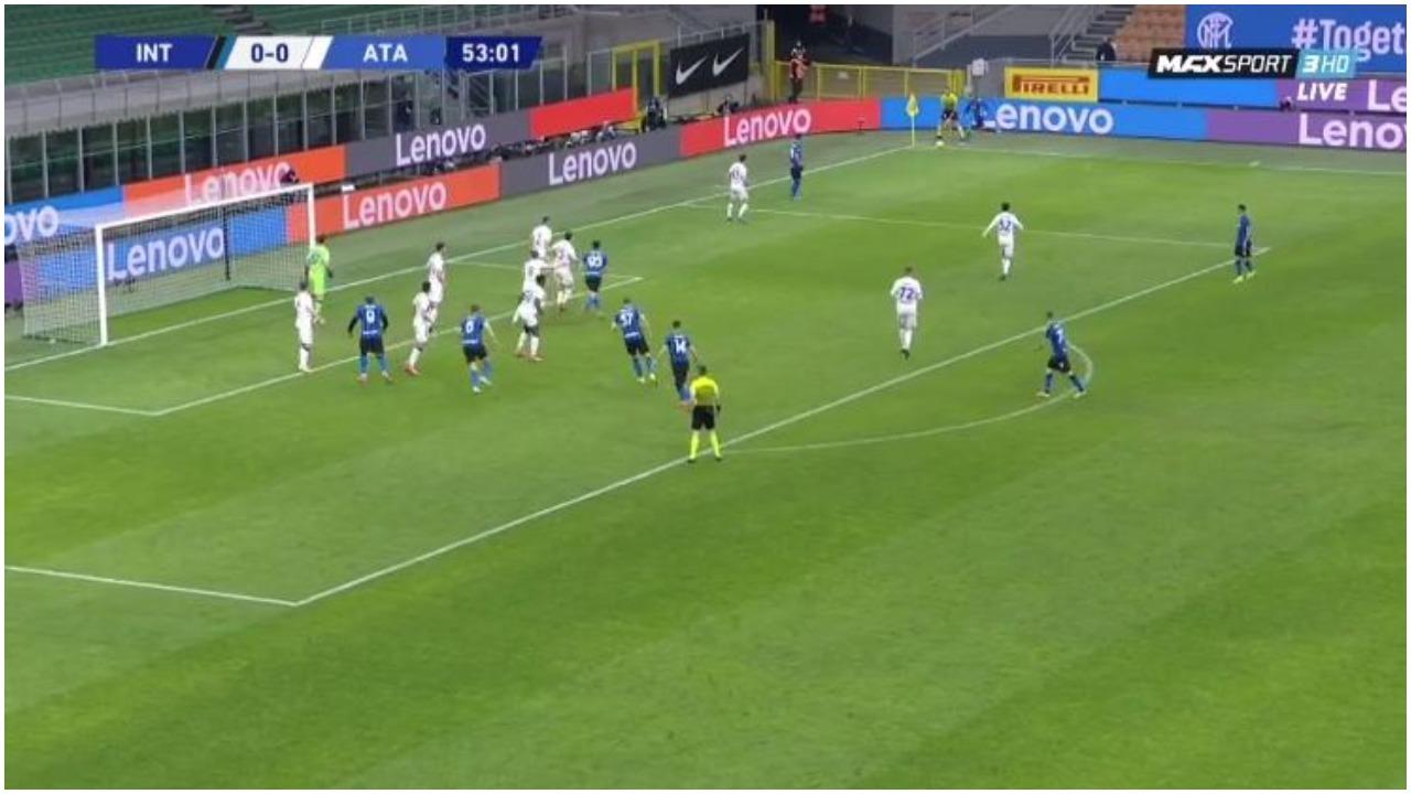 VIDEO/ Zhbllokohet Inter-Atalanta, një mbrojtës nis festën zikaltër