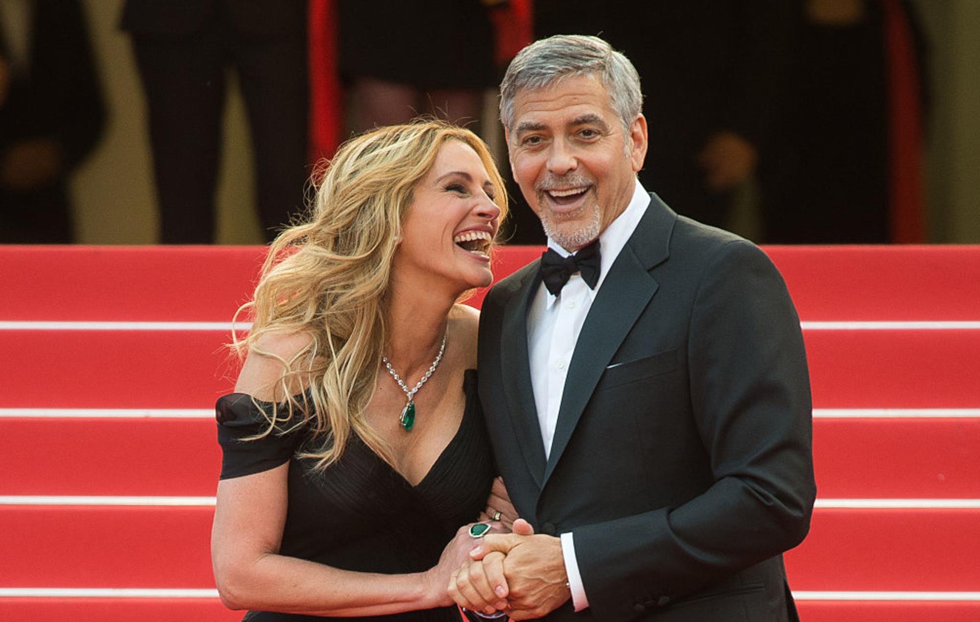 Bëhen bashkë dyshja legjendare, çfarë i lidh Julia Roberts dhe George Clooney?