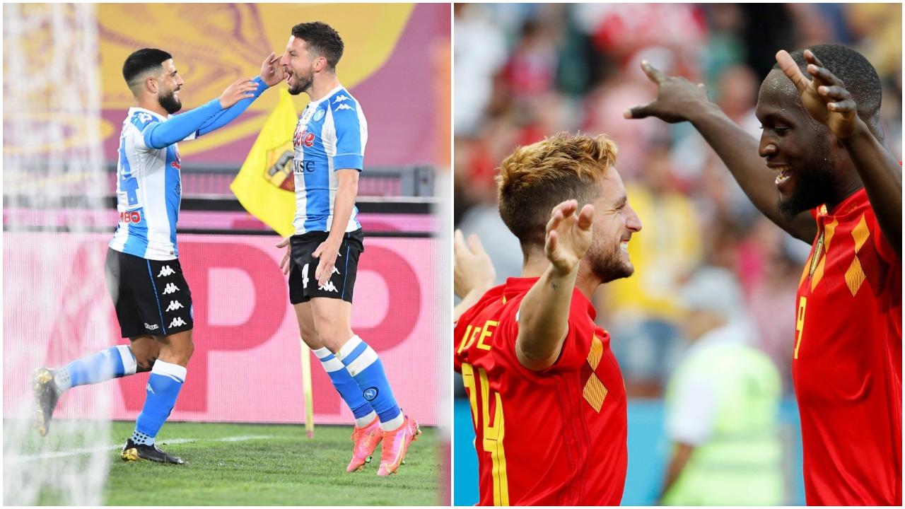 """Lukaku, nxito!"", Mertens feston rekordin dhe thumbon sulmuesin e Interit"