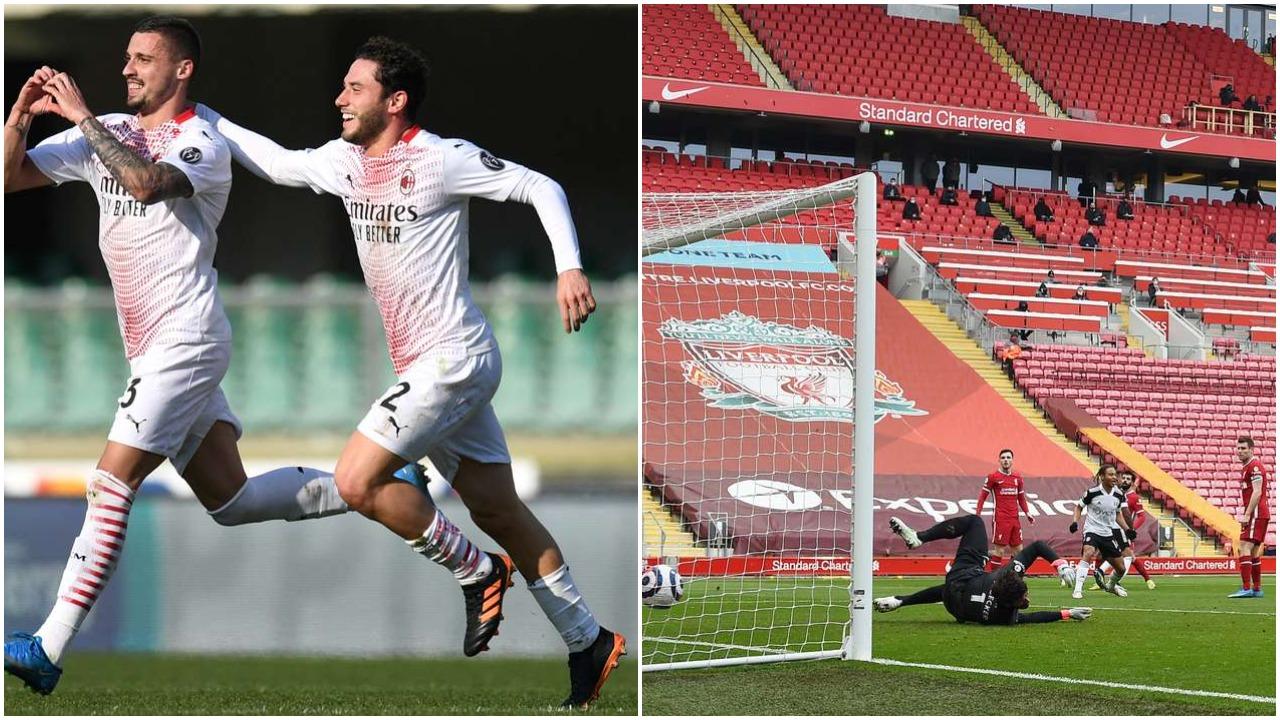 VIDEO/ Dy gola të bukur nderojnë Milanin, Liverpool nuk del nga kriza