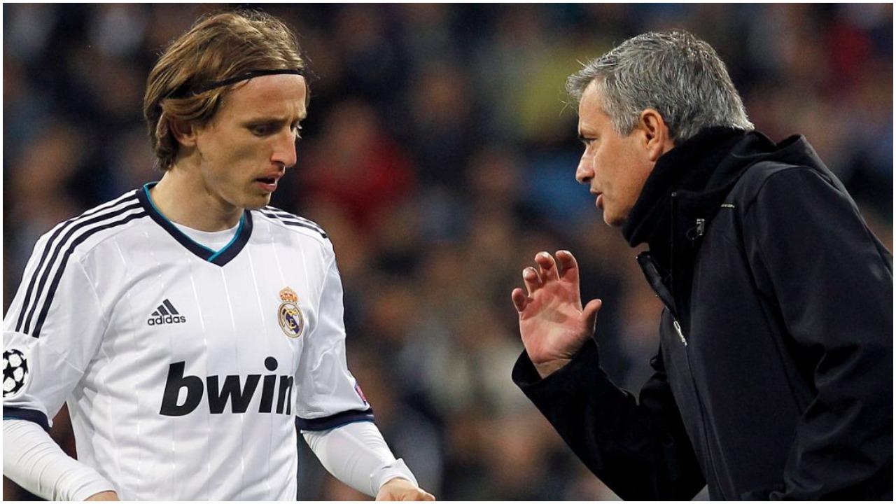 """""""E doja me çdo kusht te Reali"""", Mourinho: Luka Modric unik, nuk ka si ai"""