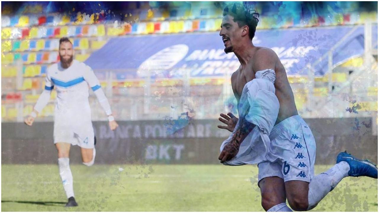VIDEO/ Rigjeti golin pas 4 muajsh, Emanuele Ndoj ka një dedikim prekës
