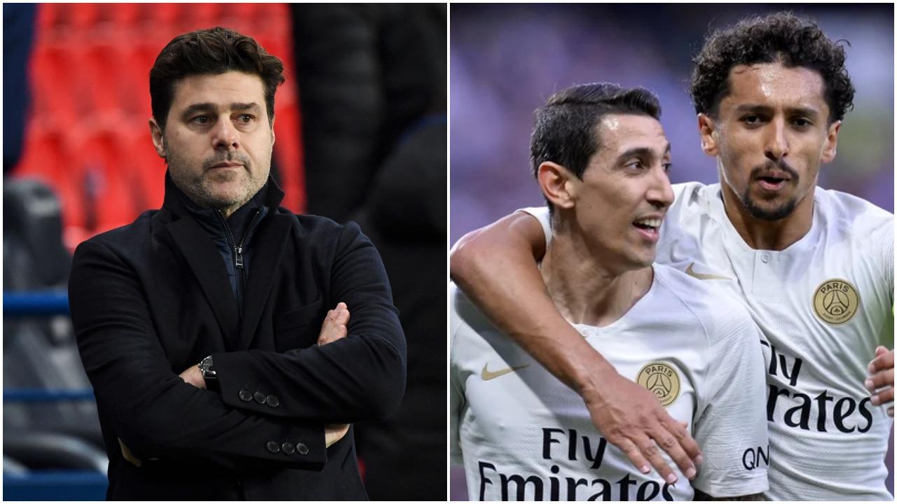 """""""Fitorja me Lille për Di Marian dhe Marquinhos"""", Pochettino ka një dedikim"""
