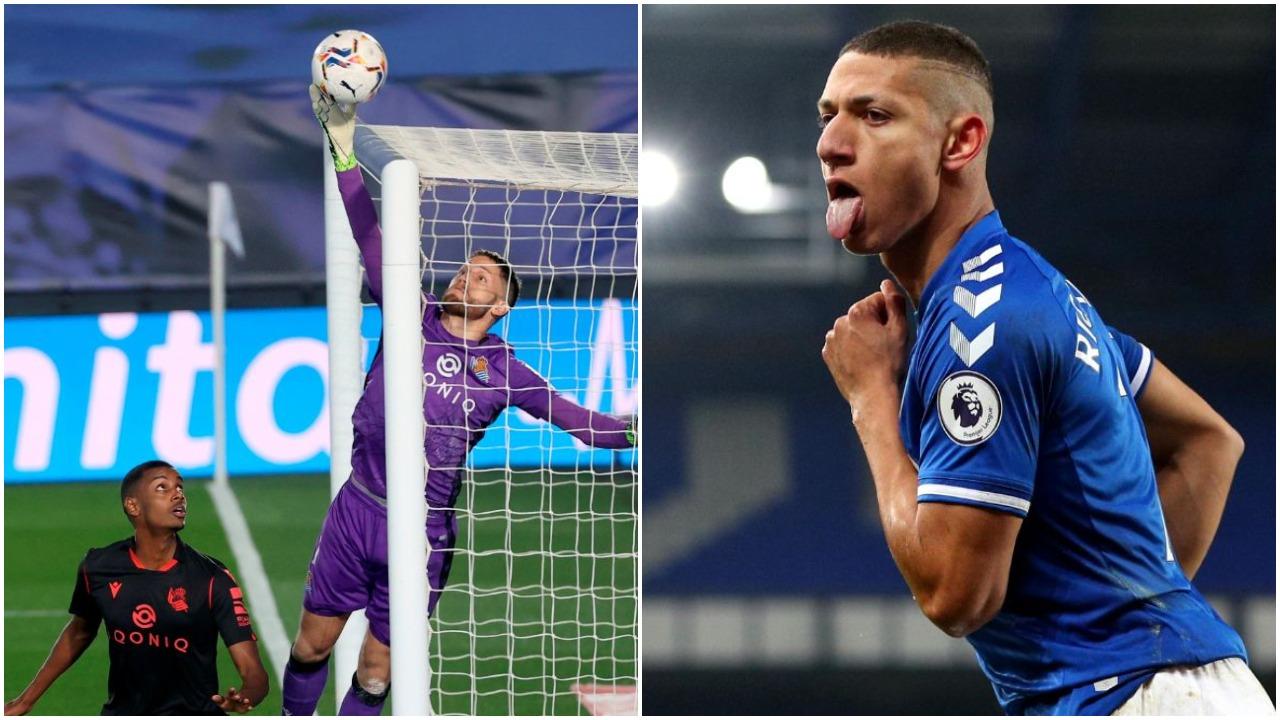 VIDEO/ Vinicius Junior eviton humbjen e Realit, feston Evertoni në Angli