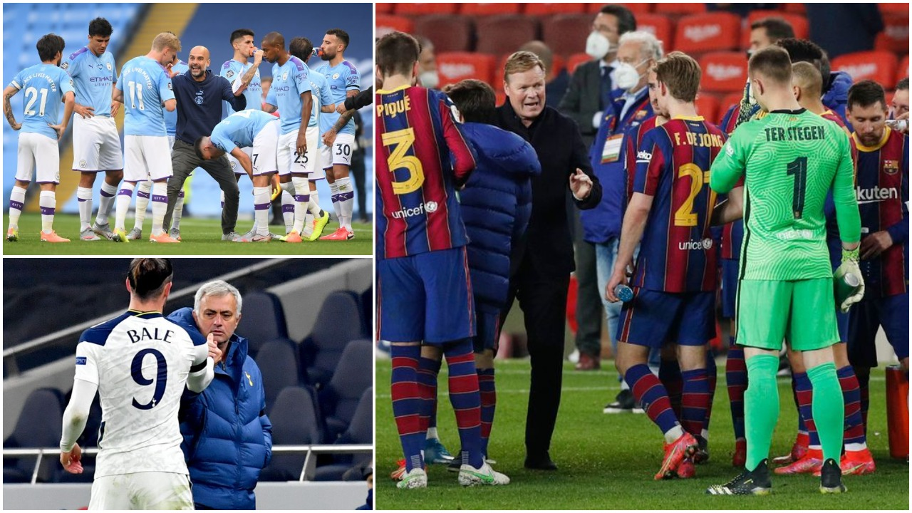 """""""City, harroje rekordin! Mourinho i duruar, titulli shpëton sezonin e Barçës"""""""