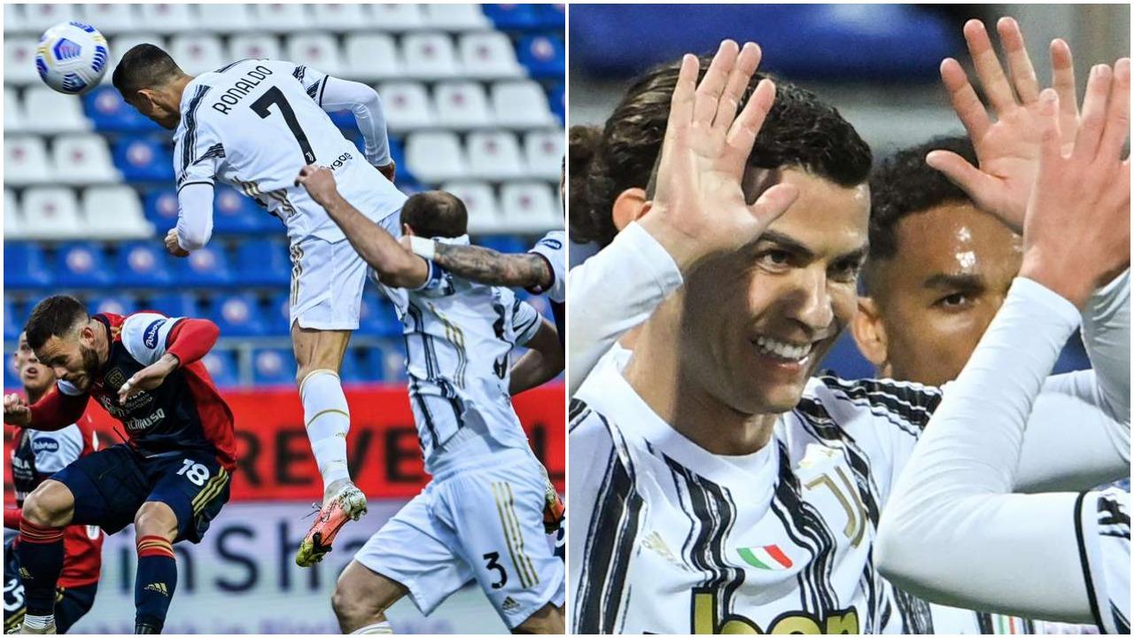 VIDEO/ Juventusi harron eliminimin në Champions, CR7 thyen i vetëm Cagliarin