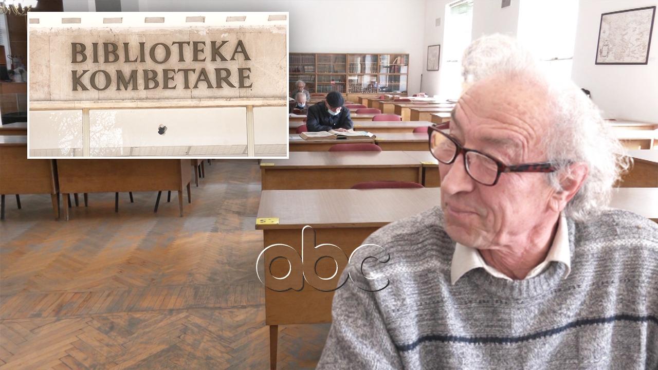"""""""Gëzuar"""", Xhevahir Spahiu feston ditëlindjen në bibliotekë: Lexoj diçka, më duhet edhe mua"""