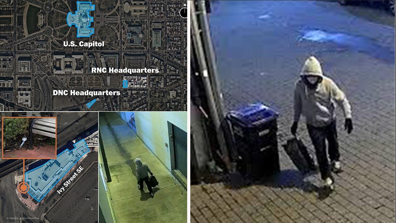 Eksplozivi pranë Kapitolit, FBI publikon videon, ofron 100 mijë dollarë për gjetjen e autorit