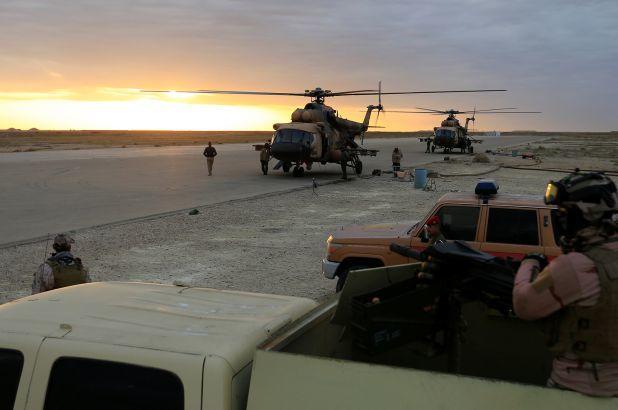 Sulmohet një bazë në Irak ku ndodhen trupat e udhëhequra nga SHBA-të