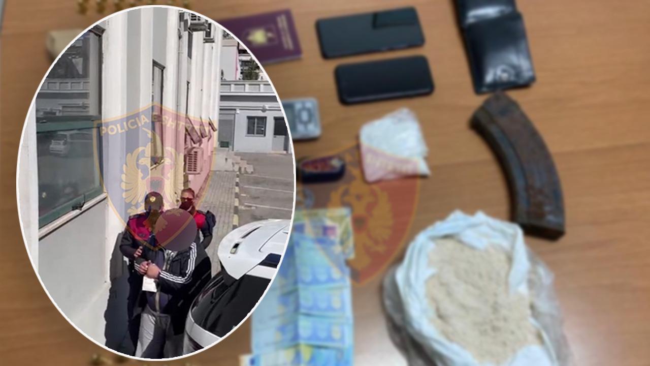 EMRAT/ Trafikonin armë e drogë nga Italia, arrestohen 3 persona një prej tyre italian