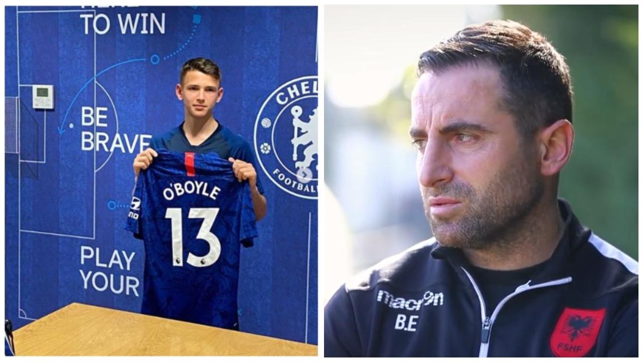 Ervin Bulku grumbullon Shqipërinë U17, në listë edhe një talent i Chelsea