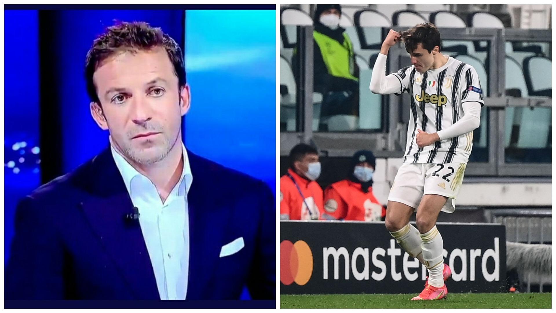 """""""Të përgëzoj, ke kurajo dhe flet si veteran"""", Del Piero elozhe për Chiesan"""