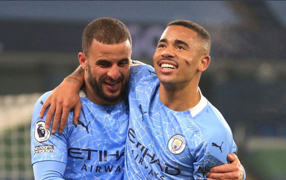 """VIDEO/ Manchester City """"makineri"""", fitorja e 21-të vjen me """"poker"""""""