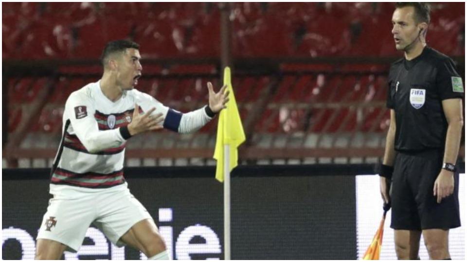 """""""I kërkova ndjesë Portugalisë"""", arbitri pranon gabimin te goli i CR7"""