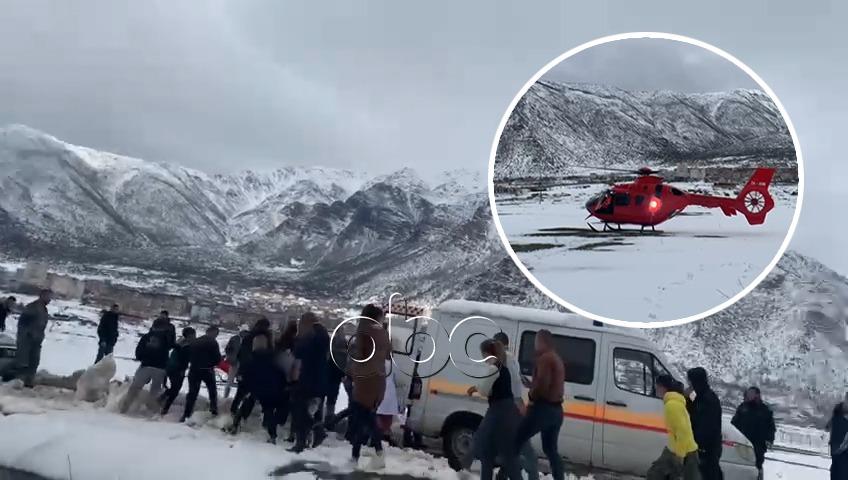 Dëmtime në gjoks dhe këmbë, plagoset minatori në Bulqizë, sillet me helikopter në Tiranë