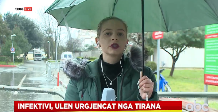 Lirohen kapacitetet tek Infektivi, ulet numri i urgjencave nga Tirana