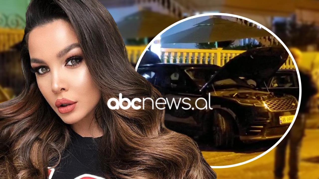Dalin pamjet, i vihet flaka makinës luksoze të Françeska Jaçes në Vlorë