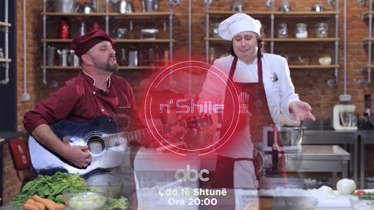 """Dy """"shefa"""" kuzhine """"N'Shije"""", nisi emisioni më i ri në ABC dedikuar gatimit"""