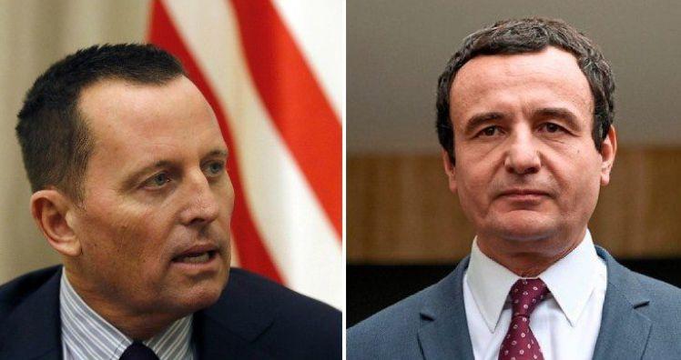 """Grenell """"sulmon"""" sërish Albin Kurtin: Anti-Amerikë, do të jetë edhe kundër Biden"""