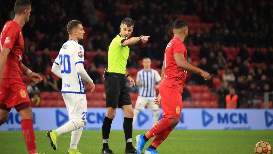 UEFA u beson arbitrave shqiptarë, Enea Jorgji gjykon ndeshjen e eliminatoreve