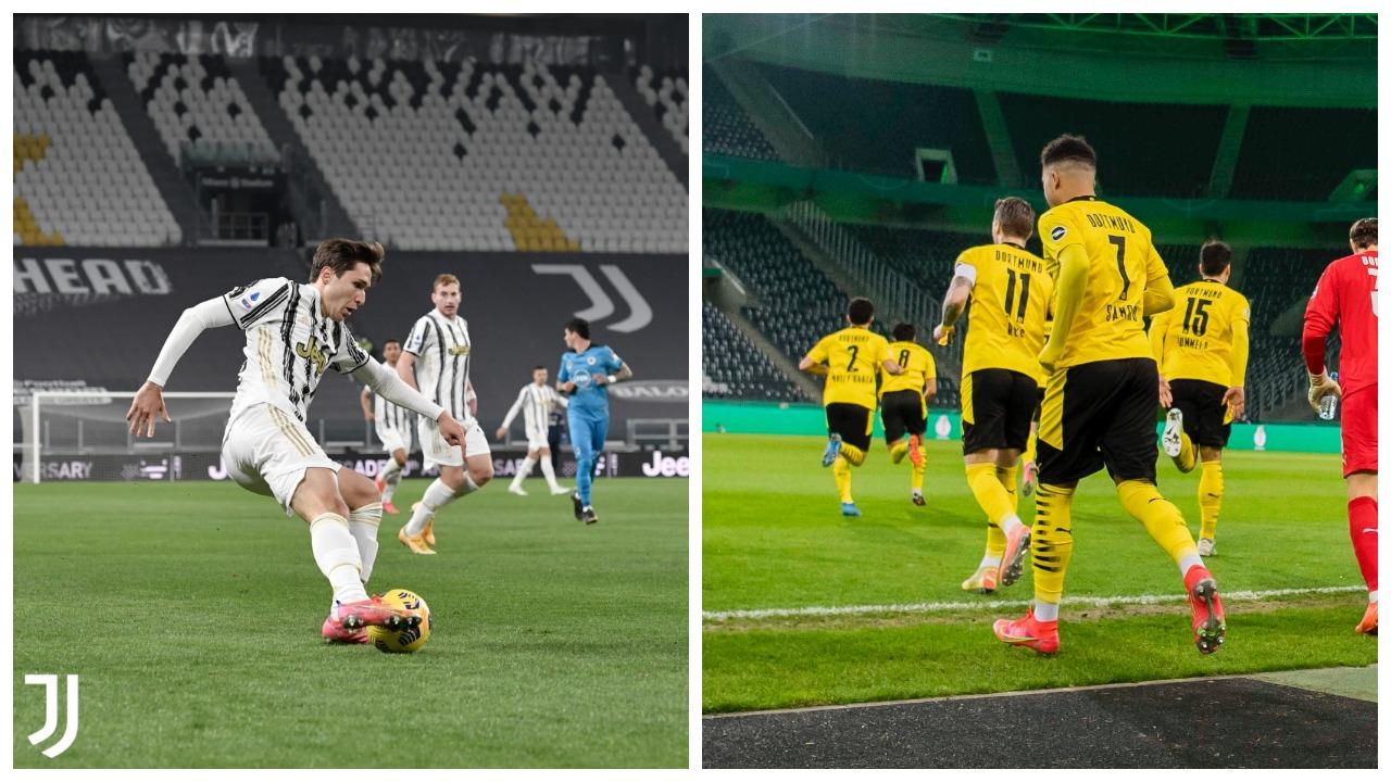 VIDEO/ Juventusi likuidon Spezian, Dortmund në gjysmëfinale të Kupës
