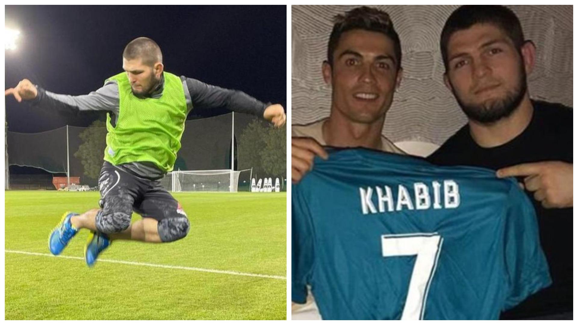"""""""Ronaldo më i miri"""", Khabib: Kam folur për të, ka një frikë për djalin"""