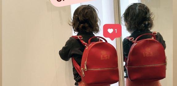 """FOTO/ Kandidati i LSI """"angazhon"""" për fushatë të bijën 1-vjeçare"""
