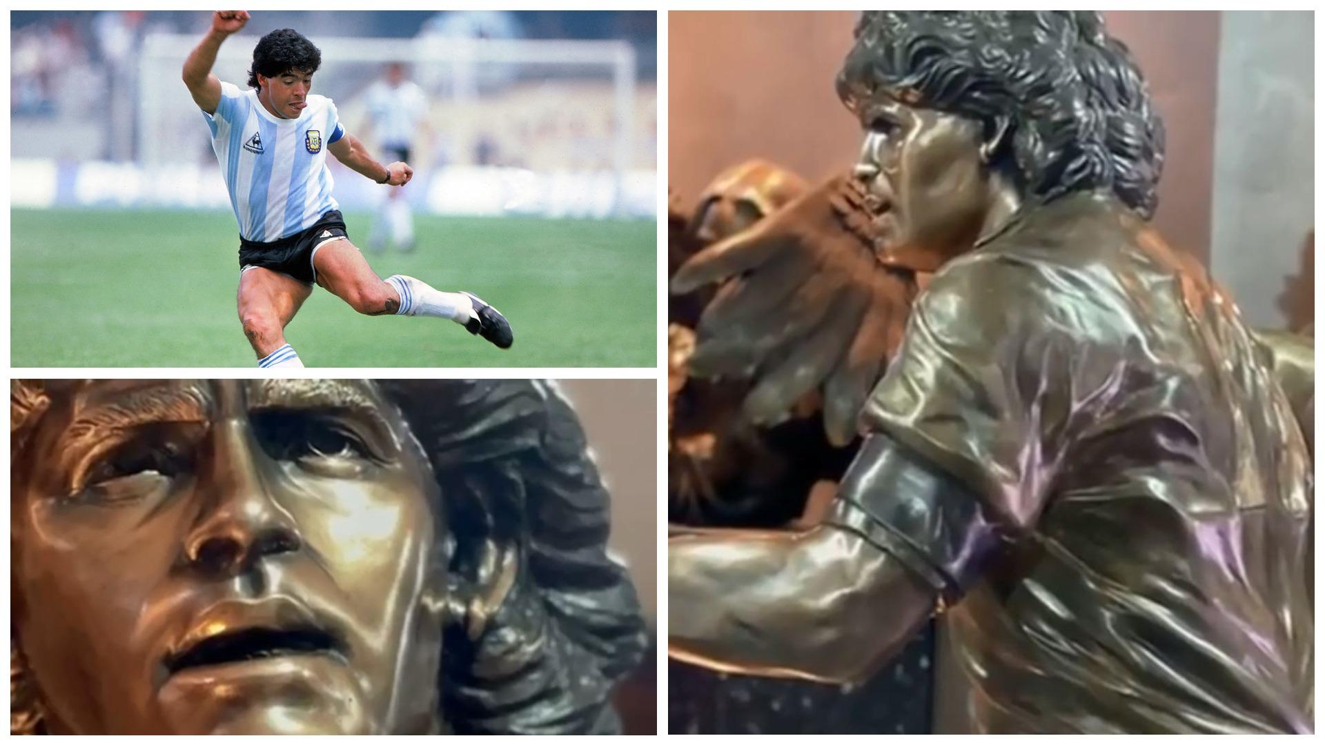 VIDEO/ Figura e Diegos skalitet në bronz, ndërtohet skulptura me përmasat identike