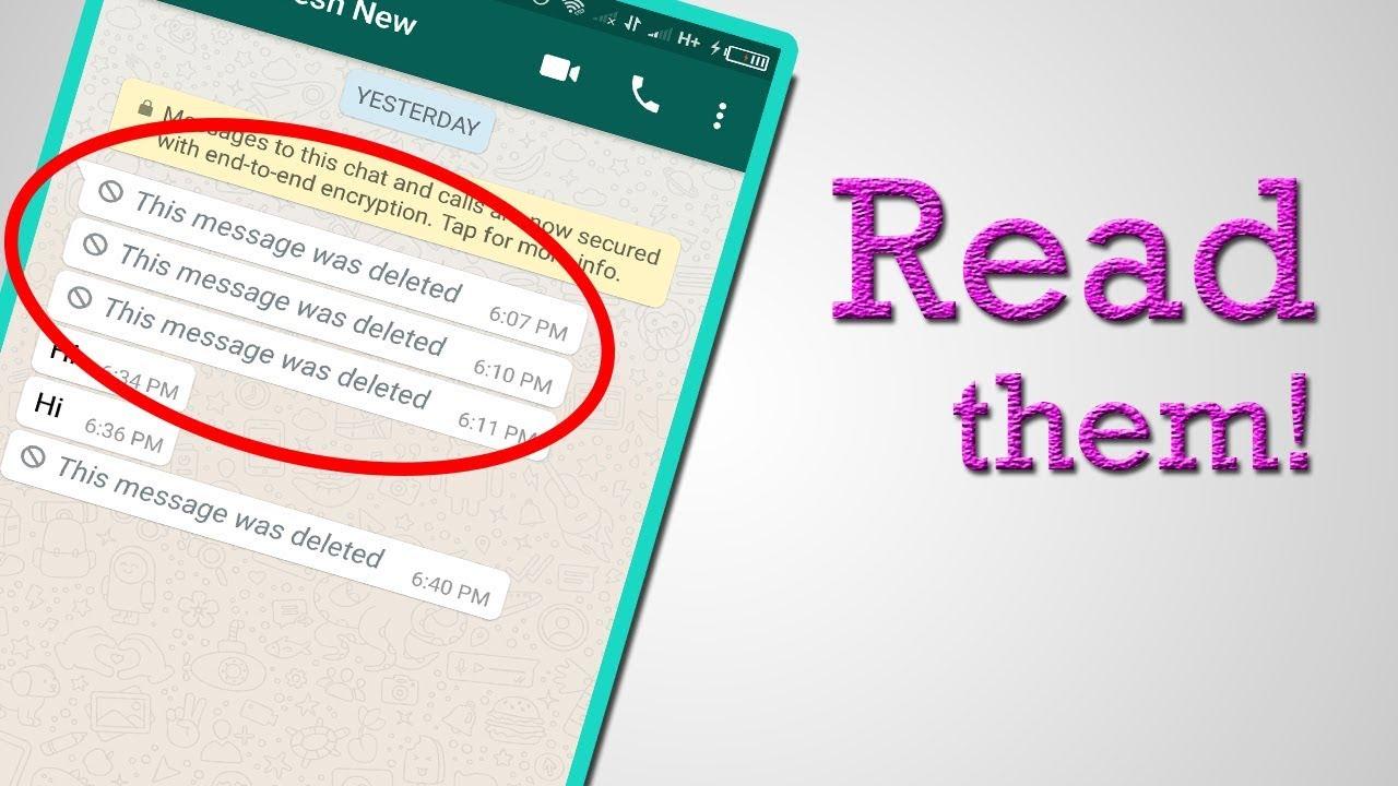 Me këtë trik të thjeshtë mund të lexoni mesazhet e fshira në WhatsApp
