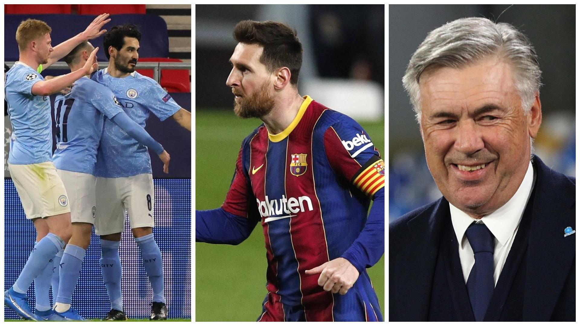 Ancelotti: Manchester City si Messi, në Madrid nuk flisja për të se trembeshin lojtarët