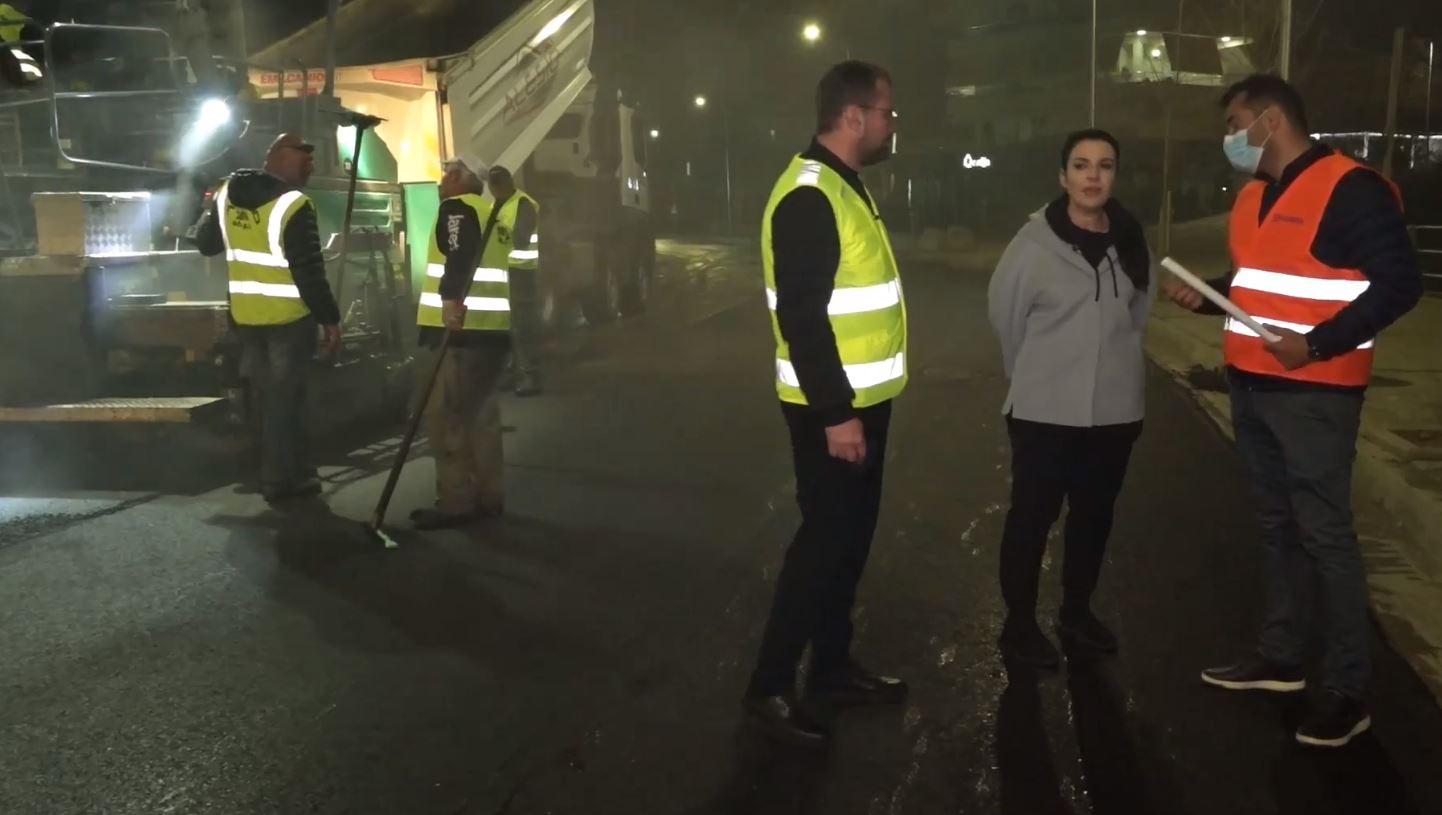 Nis asfaltimi i lotit 3 të Unazës së Madhe, Balluku: Shkoza bëhet pjesë e kryeqytetit