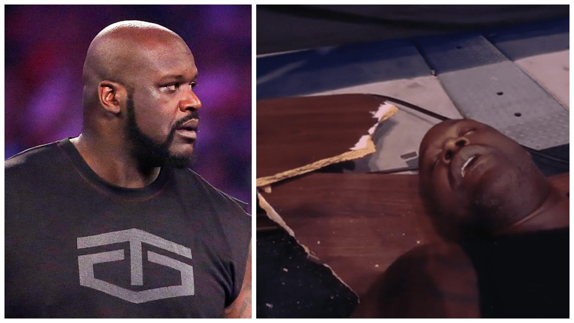 VIDEO/ E hedhin nga ringu në tavolinë, Legjenda O'Neal debuton në keç
