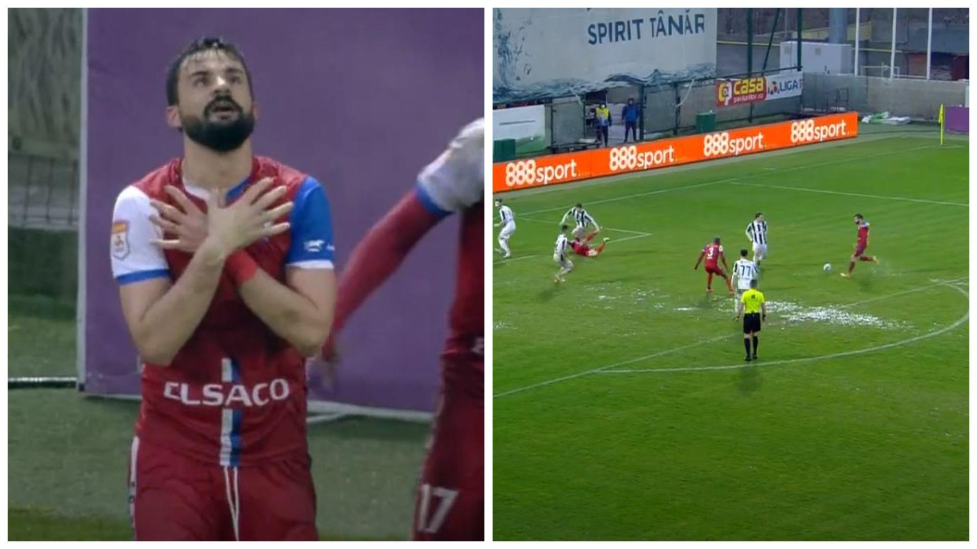 """VIDEO/ Papa gjen golin e radhës në Rumani, """"predhë"""" e pandalshme për portierin"""