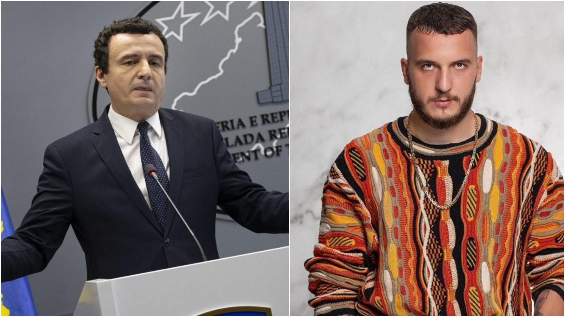 Albin Kurti u bë zyrtarisht kryeministër, reagon reperi i njohur Mozzik