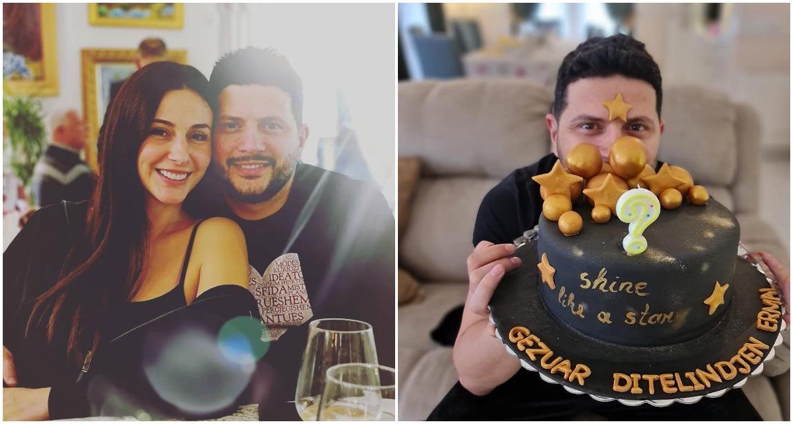 Brenda festës së ditëlindjes së Ermalit, Ami e uron me fjalët e ëmbla: E ndriçove jetën time