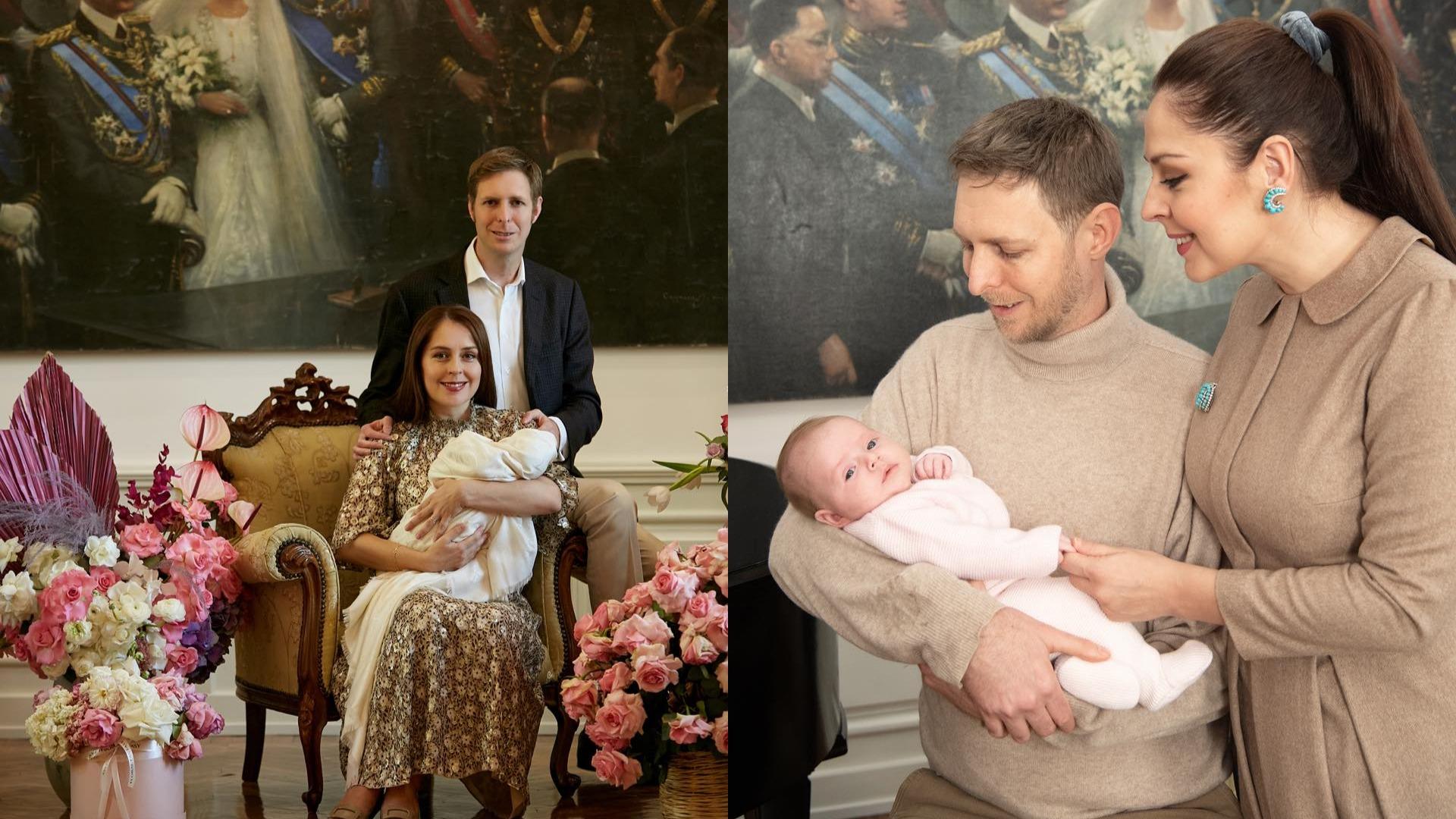 Ditëlindja e parë si baba, Elia Zaharia uron Princ Lekën me fjalët e ëmbla