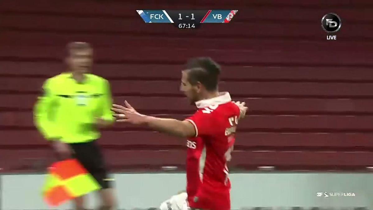 VIDEO/ Ylber Ramadani shfaqet si goleador, shënon në humbjen e Vejle BK