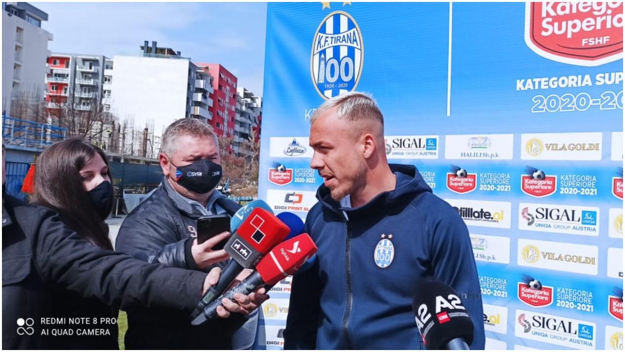 Seferi: Jam më mirë se në derbin e kaluar, me Alban Hoxhën shihemi në fushë
