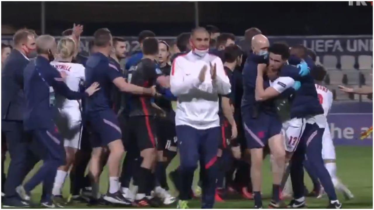 VIDEO/ Euro U21: Akuza për racizëm dhe sherr, ndodh gjithçka në Kroaci-Angli