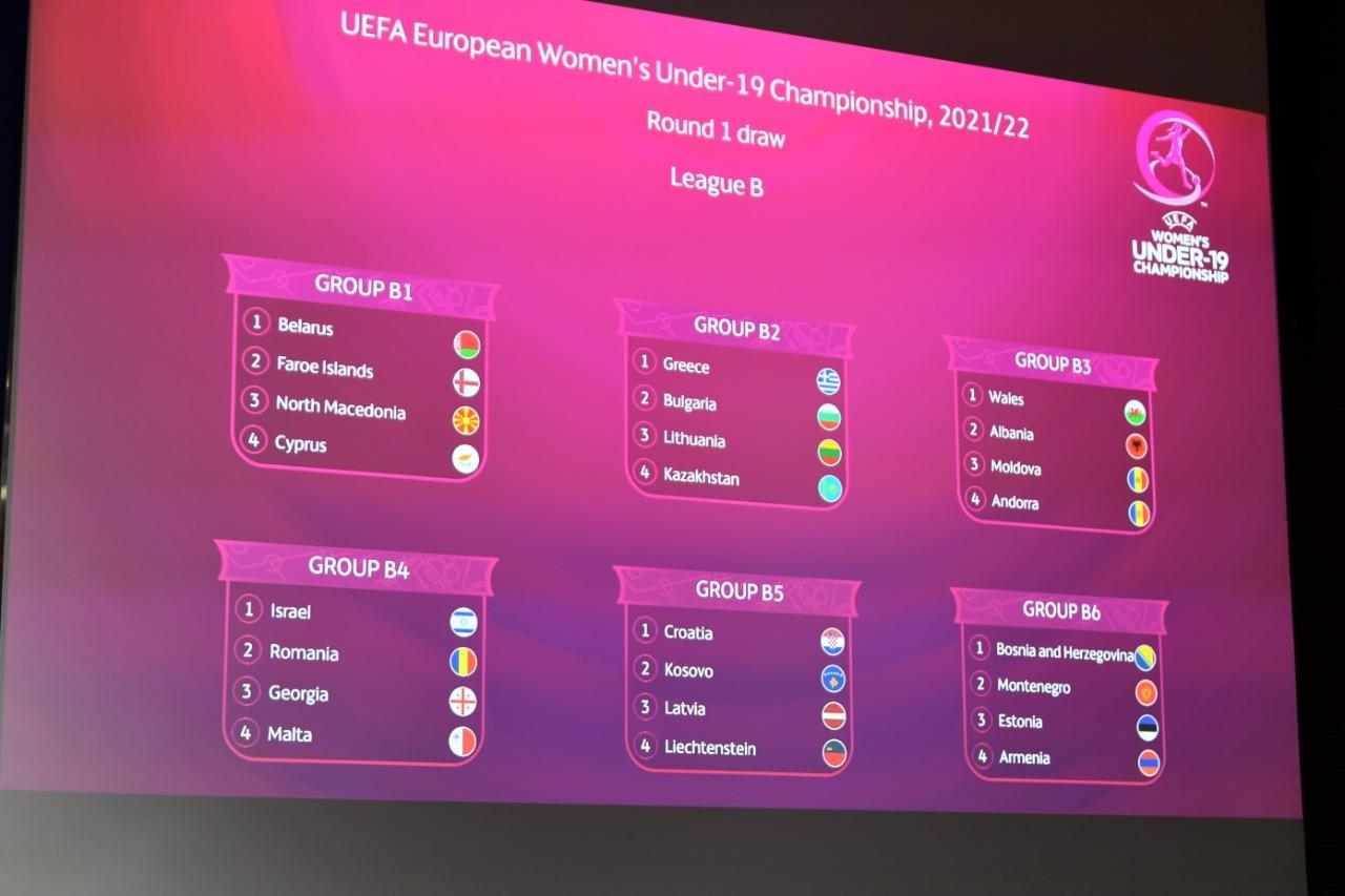 Futboll femra/ Hidhet shorti, Shqipëria U19 njeh rivalet dhe datat e ndeshjeve