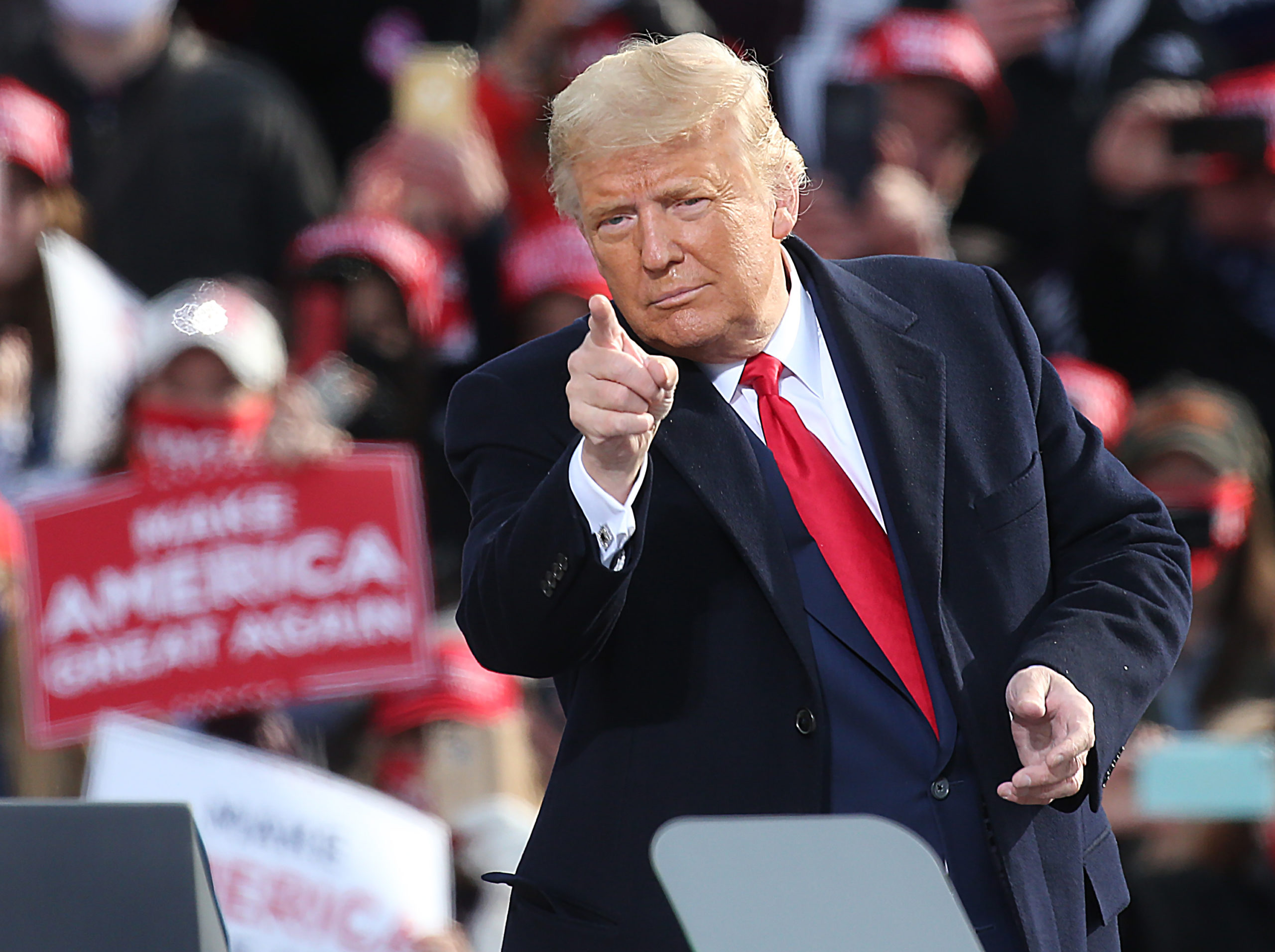 Trump le të hapur mundësinë e rikandidimit në 2024