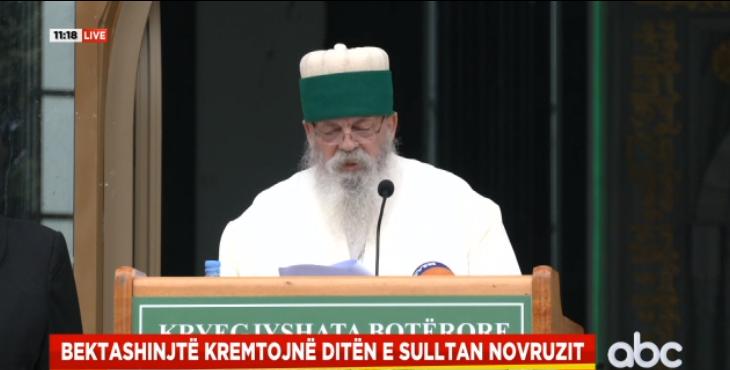 """""""Sulltan Novruzi"""", Baba Mondi nga Kryegjyshata: Pandemia nuk na pengoi të jemi me shpirt të bashkuar"""