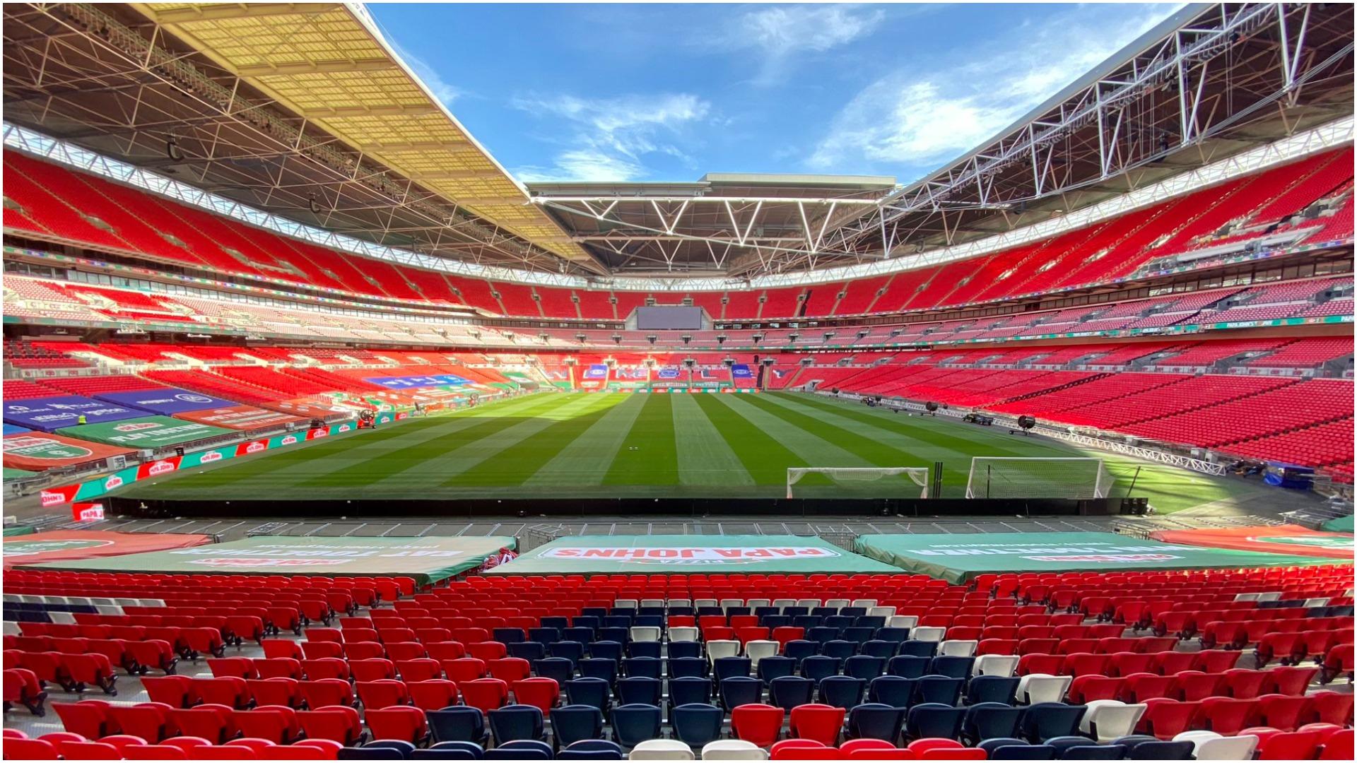 Anglia planifikon hapjen, finalja e Kupës do zhvillohet me tifozë