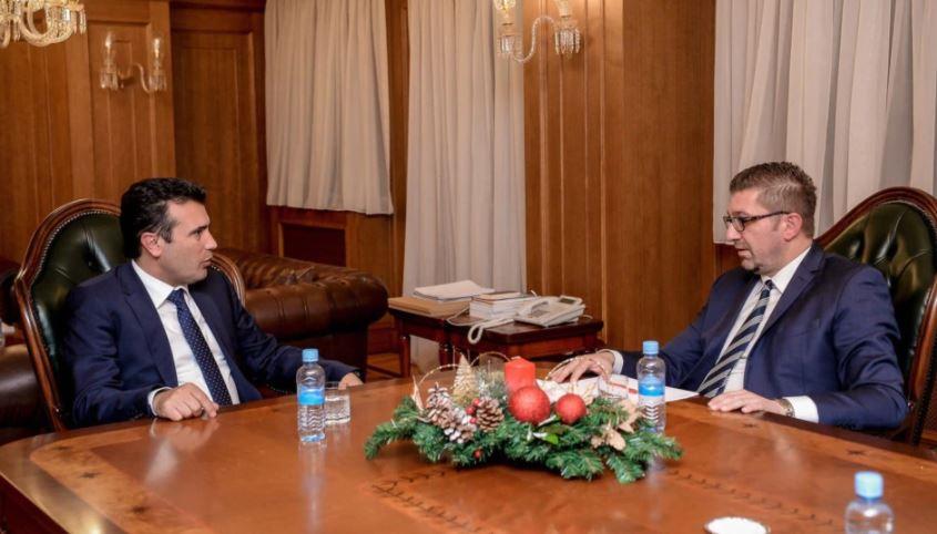 Zaev dhe Mickoski, në kërkim të zgjidhjes për regjistrimin e popullsisë