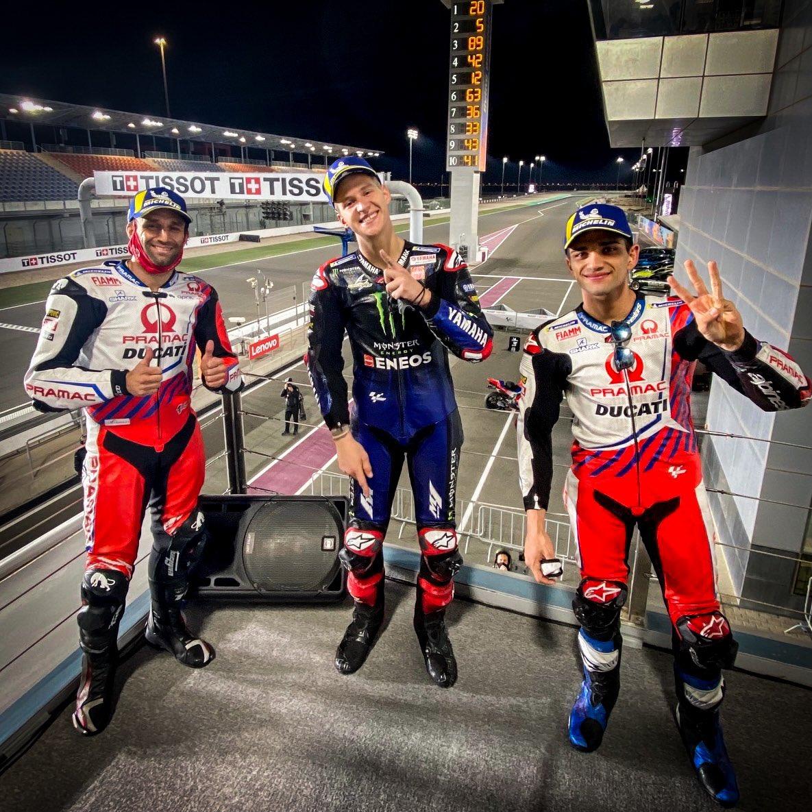 MotoGP/ Quantararo fiton Çmimin e Madh të Dohas, dy Ducati në pod