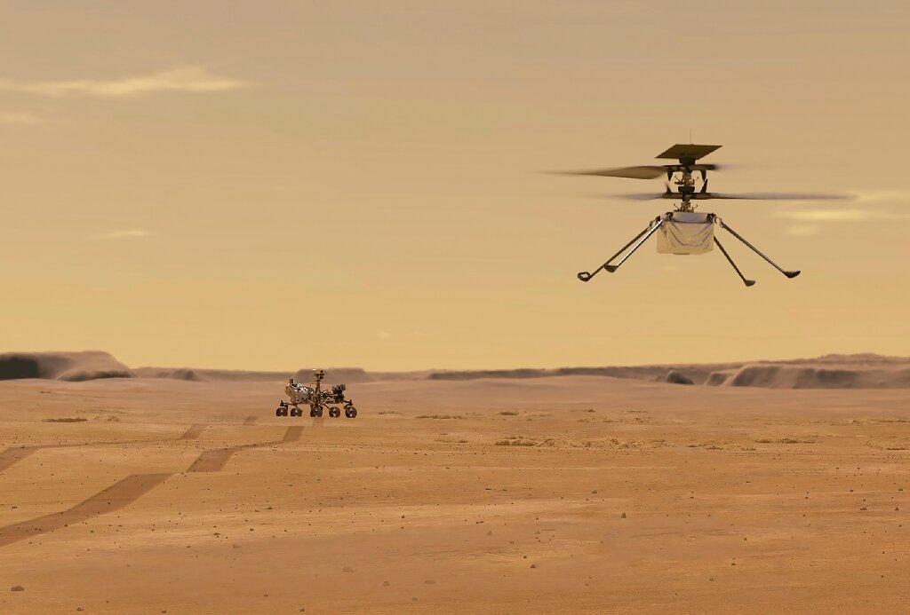 NASA: Fluturimi i helikopterit të vogël në Mars, me sukses