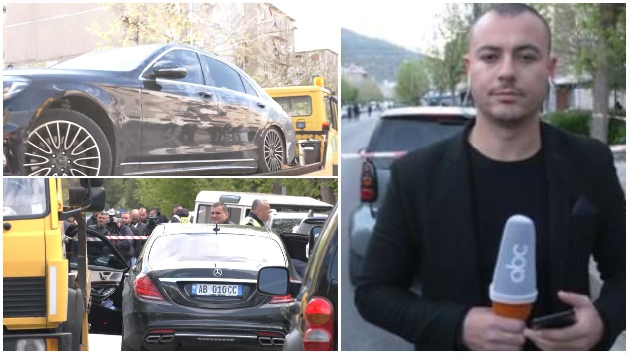 """Plumbat për votat në Elbasan, gazetari: 3 furgona me logon e PD-së rrethuan """"Benz""""-in e Xhuvanit"""