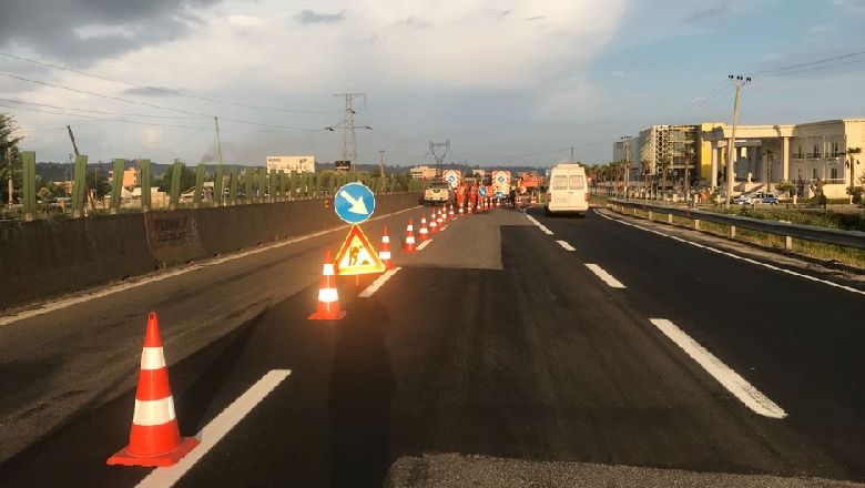 Nis riparimi i autostradës Tiranë-Durrës, si do devijohet trafiku