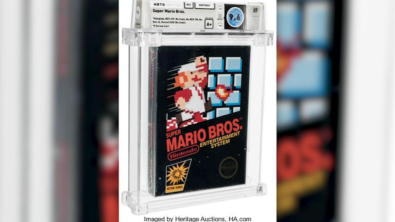 """E harruar në një sirtar që nga viti 1986, loja legjendare """"Super Mario"""" shitet në ankand"""
